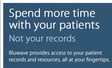 Spend more time with your patients. Not your records.